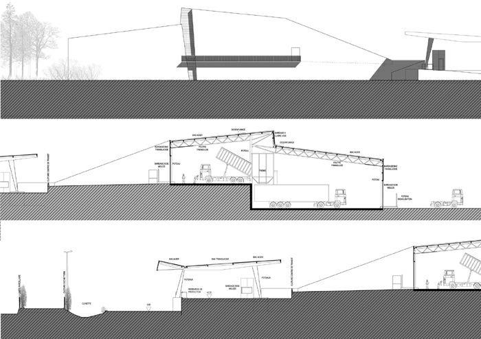 Déchetterie et centre de transit de déchets-Lunéville-2003 : 13-DLUN-03