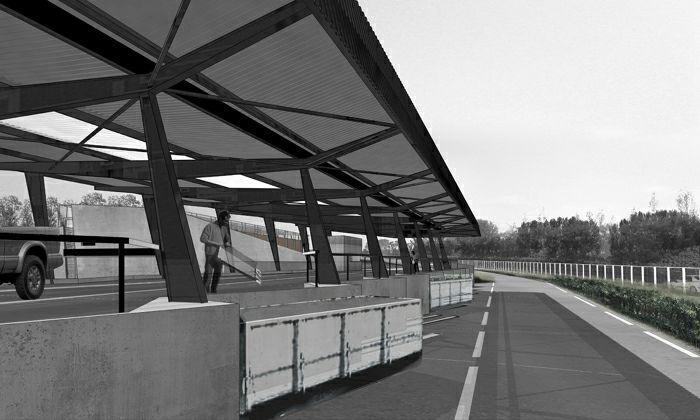 Déchetterie et centre de transit de déchets-Lunéville-2003 : 13-DLUN-04