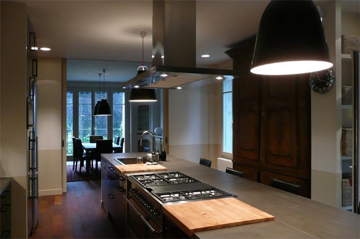 Grande cuisine-salle à manger : 104web
