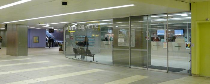 Aménagements de stations de métro