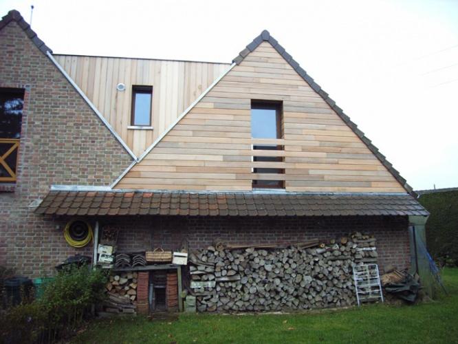 Construction bois et  terrasse