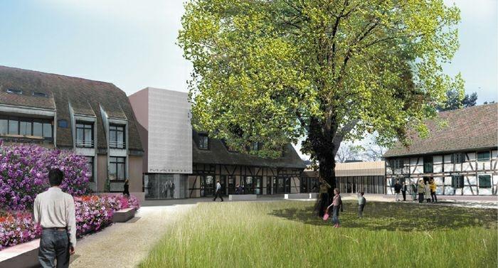 Extension restructuration de la mairie de La Wantzenau (67) - 2010 : image_projet_mini_21914