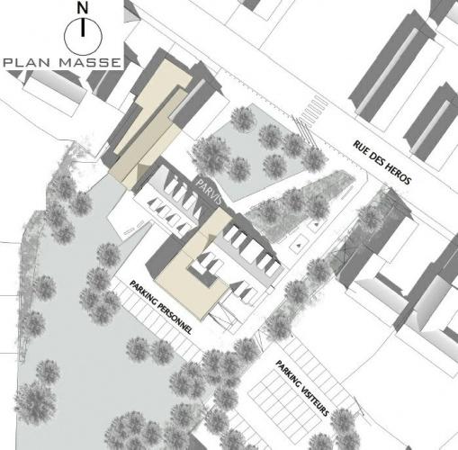 Extension restructuration de la mairie de La Wantzenau (67) - 2010 : LW-02