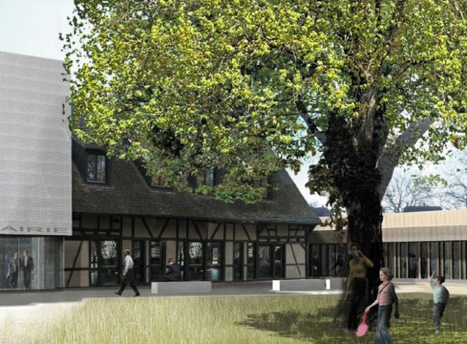 Extension restructuration de la mairie de La Wantzenau (67) - 2010 : LW-09
