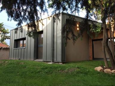maison contemporaine Saint-Genis Laval