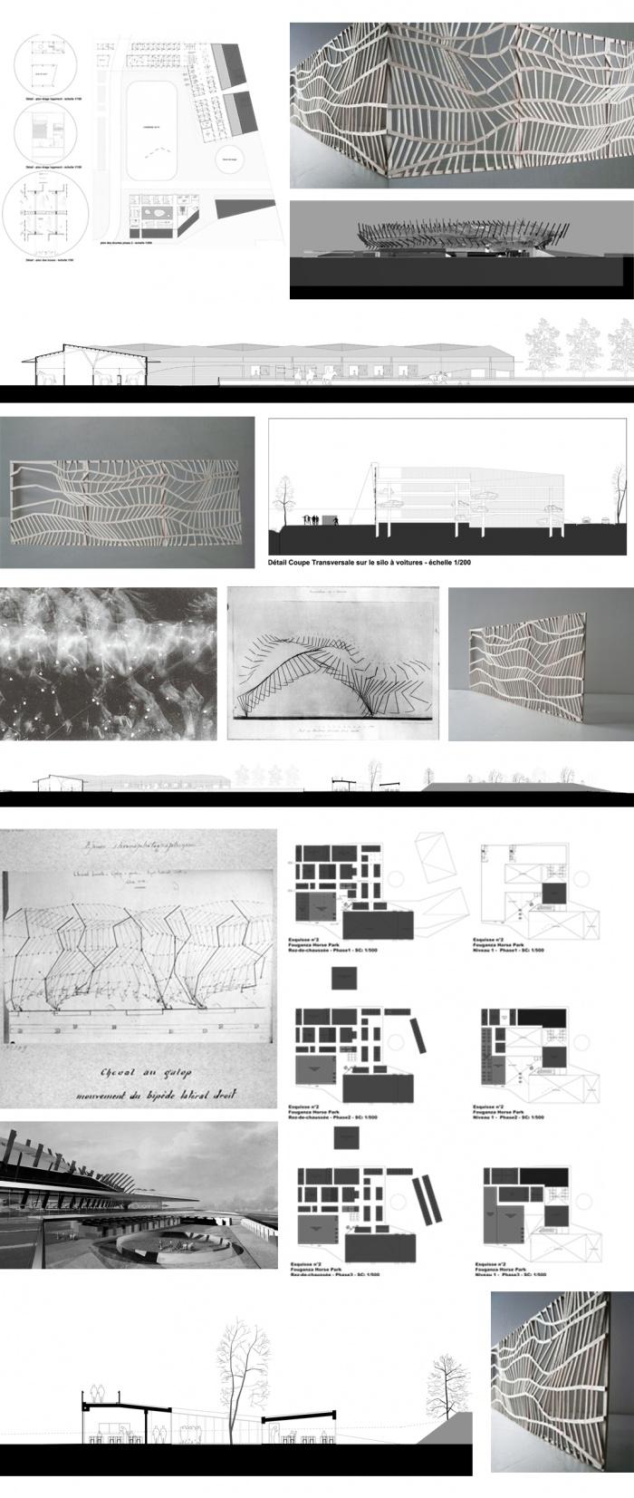 Fouganza Horse Park / Projet lauréat : étude