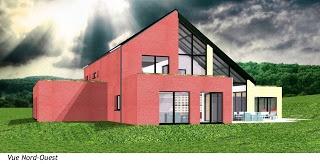 Habitation C : Vue de l'entrée