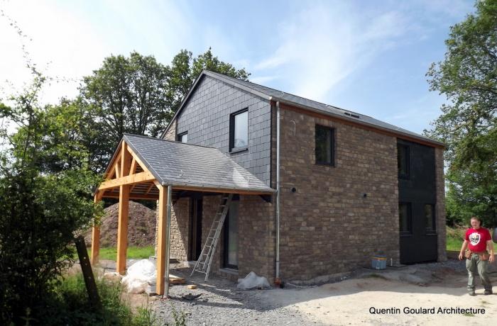 Un projet réalisé par Quentin Goulard Architecture