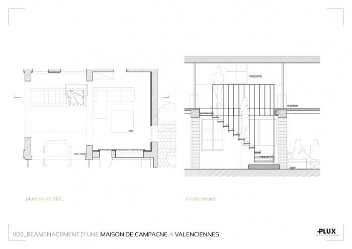 Réaménagement d'une maison de campagne à VALENCIENNES (59300) : planches projets5