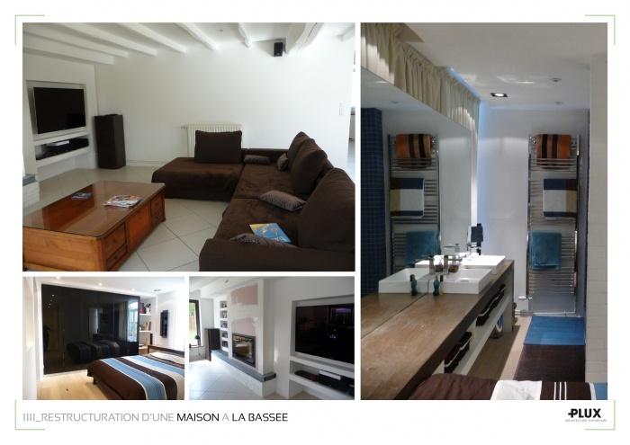 Réaménagement d'une maison de caractère à LA BASSEE (59480)