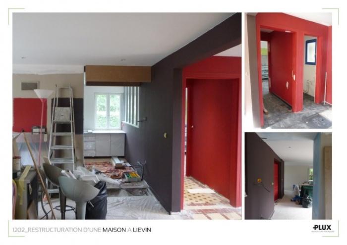 Aménagement d'une maison près de LENS (62300) : architecte lille plux aménagement intérieur loft studio appartement loft maison design décoration